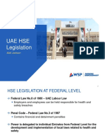 UAE HSE Legislation
