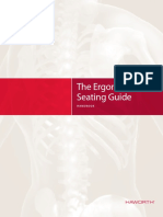Ergonomic Seating Guide Handbook