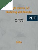 Blender Intro