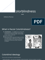 racial color blindness