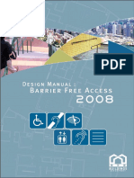 Design Manual Barrier Free Access 2008