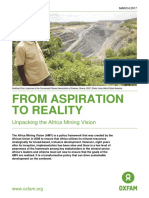 From Aspiration to Reality