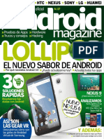 Android Magazine Spain - Issue 37, 2014