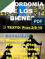 1. Temático-1-Mayordomía de Los Bienes-parte i