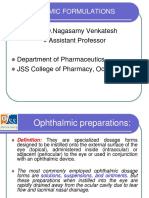 Ophthalmic Formulations