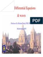 Partial Differential Equations - Waves