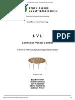 Laminated Veneer Lumber - Wood-Based Panels Technology