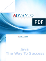 Java Training in Pune-Course Content  Advanto Software