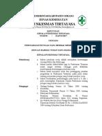 Kriteria 8.2.2.1 Sk Persyaratan Petugas