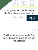 Configuración de Sistema de Distribución Industrial