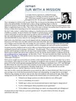 Case Study of Entrepreneurs Sucess Stories - 1
