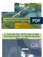 Proposed bridges to replace existing ferry services ppt.pptx