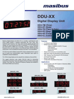 Masibus DDU-XX R1F 0815 Digital Display Unit