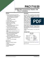 PAC1710 20 Data Sheet