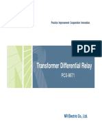 PCS-9671 Transformer Differential Relay_V1.00