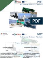 10ano OTET Modulo 1 as Empresas Turisticas