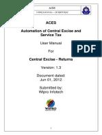 ACES-User Manual CE Returns Assessee-V1.3
