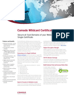 The Purpose of Wildcard Certificates