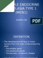 Multiple Endocrine Neoplasia Type 1 (Men1)