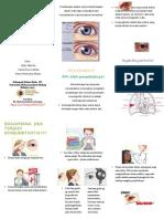 Penyuluhan Konjunktivitis (Leaflet)
