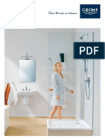 GROHE – Sanitary and Bathroom Fittings Products Catalogues