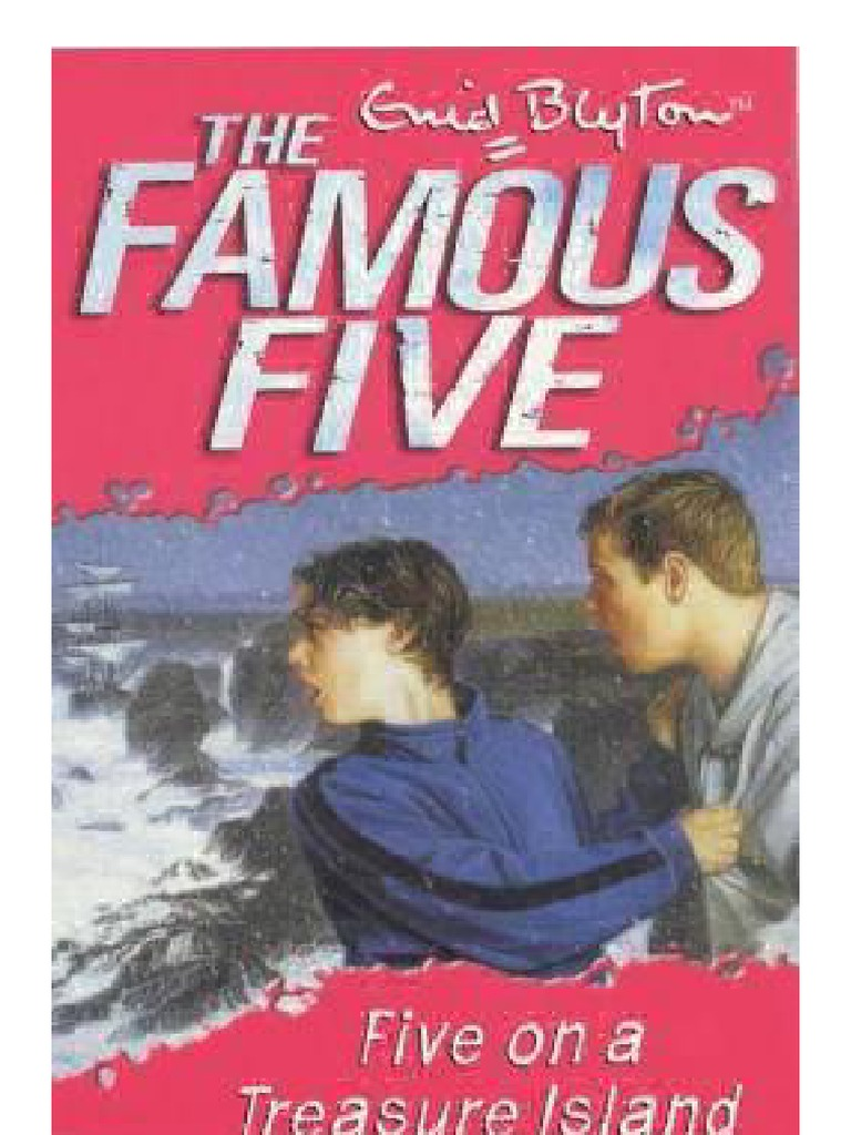 Fiveonatreasureislandfamousfive1byenidpdf  Children's Books   Children's Literature