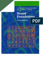 Sound Foundations Teacher Development, Underhill. 2005