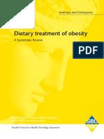 Dietary Treatment Obesity