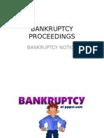 Bankruptcy 3 A