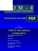 HDM4 Application