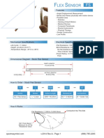 Flex Sensor 4.4 Inch