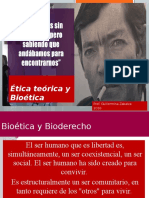 Ética Teórica y Bioética