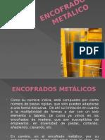 ENCOFRADO METÁLICO