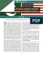 Pak-US Relations Under Trump