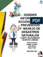 Dossier Informativo Bomberos Jimenez