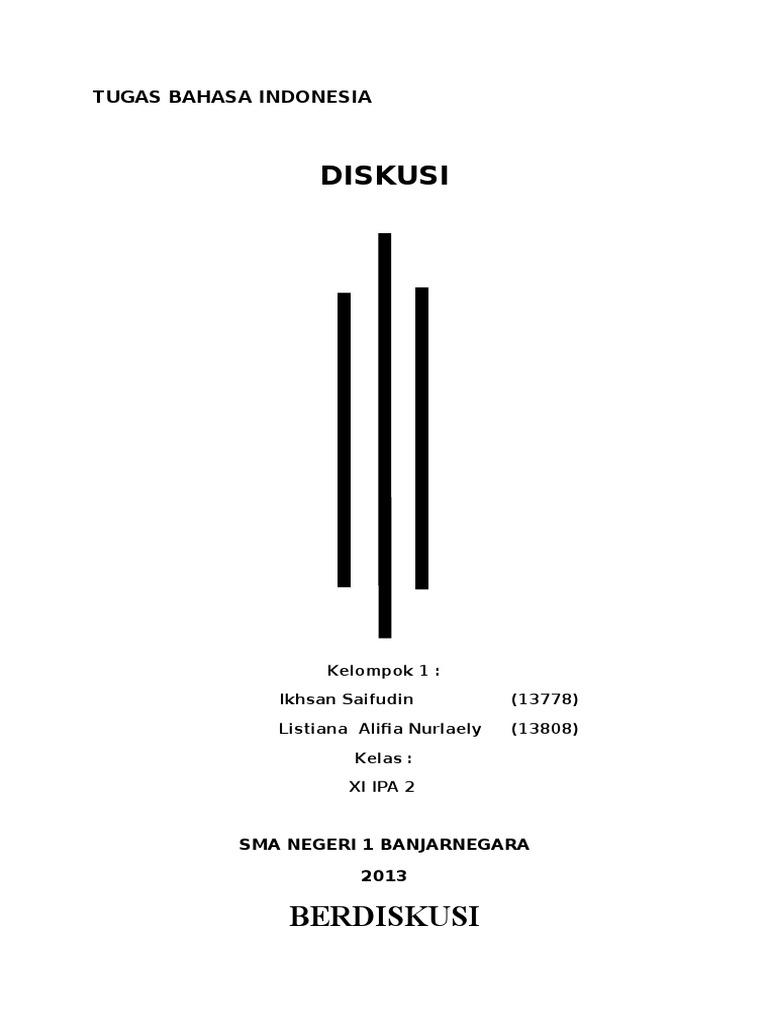 Bahasa Indoesia Kd Diskusi