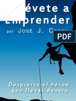 Atrevete a Emprender (Spanish E - Jose J. Cerpa