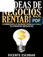 22 Ideas de Negocios Rentables - Vicente Escobar