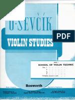 Violin Studies Osevcik001