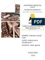 Arquitectura vs Patrimonio