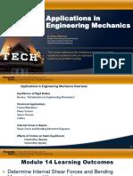 1f587f31055a501dc1b078f78ea4def2 Module 14 Applications in Engineering Mechanics