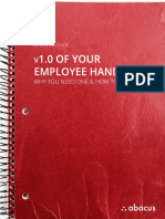 How to Create Employee Handbook