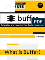 [Made Easy] How to Use Buffer  - Tutorial for beginners.