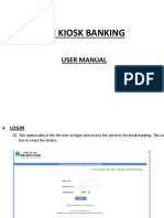 SBI MiniBank User Manual Ppt Presentation