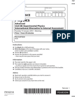 January 2013 QP - Unit 6 Edexcel Physics a-level
