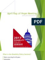 april ray of hope meeting- dps 2017