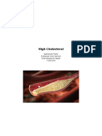 research paper - high cholesterol