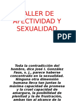 Taller de Afectividad y Sexualidad Casa Loyola 2