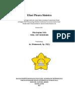 Laporan Kasus Efusi -Taqim FIX FIX