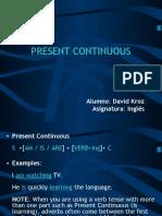 Present Continuous [Ingles]